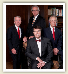 Front: Lon E. Roberts - Secretary / Treasurer<br /> L to R: John Dudley - Director<br /> Gary W. Freels - President<br /> Dwight E. Davis - Vice President